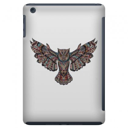 Owl Metallizer Art Glass Factory Ipad Mini Case Designed By Salmanaz