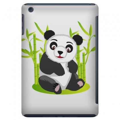 Giant Panda Bear Ipad Mini Case Designed By Salmanaz