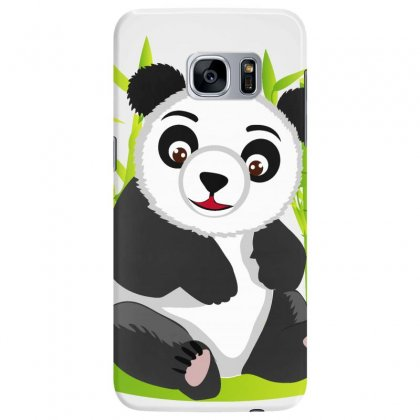 Giant Panda Bear Samsung Galaxy S7 Edge Case Designed By Salmanaz