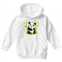 Giant panda bear Youth Hoodie | Artistshot