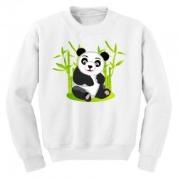 Giant panda bear Youth Sweatshirt | Artistshot