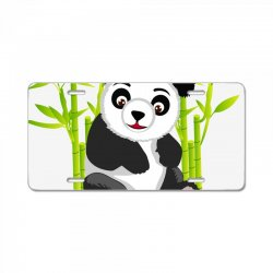 Giant panda bear License Plate | Artistshot
