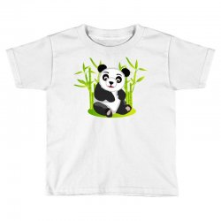 Giant panda bear Toddler T-shirt | Artistshot