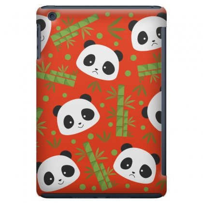 Giant Panda Bear Bamboo Icon Green Bamboo Ipad Mini Case Designed By Salmanaz