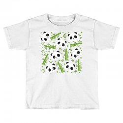 giant panda bear bamboo icon green bamboo Toddler T-shirt | Artistshot