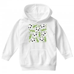 giant panda bear bamboo icon green bamboo Youth Hoodie | Artistshot
