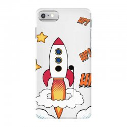 rocket cartoon iPhone 7 Case | Artistshot