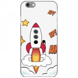rocket cartoon iPhone 6/6s Case | Artistshot