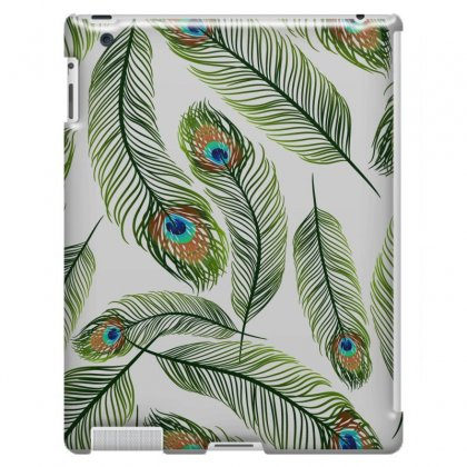 Green Peacock Ling Vector Ipad 3 And 4 Case Designed By Salmanaz