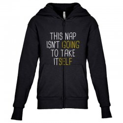isn't going Youth Zipper Hoodie | Artistshot
