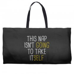 isn't going Weekender Totes | Artistshot
