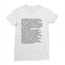 i can't believe Ladies Fitted T-Shirt | Artistshot