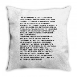 i can't believe Throw Pillow | Artistshot
