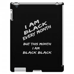 i am black iPad 3 and 4 Case | Artistshot