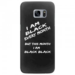 i am black Samsung Galaxy S7 Edge Case | Artistshot