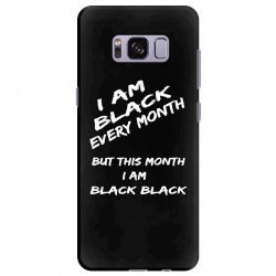 i am black Samsung Galaxy S8 Plus Case | Artistshot