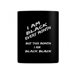 i am black Mug | Artistshot