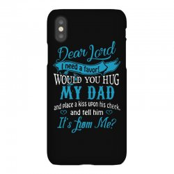 hug my dad iPhoneX Case | Artistshot