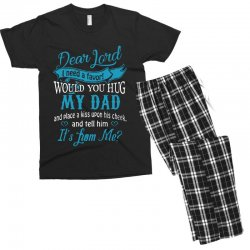 hug my dad Men's T-shirt Pajama Set | Artistshot