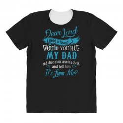 hug my dad All Over Women's T-shirt | Artistshot