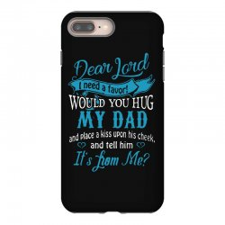 hug my dad iPhone 8 Plus Case | Artistshot