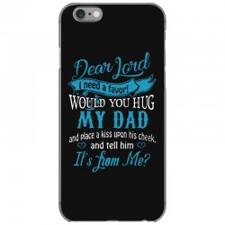 hug my dad iPhone 6/6s Case | Artistshot