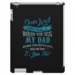 hug my dad iPad 3 and 4 Case | Artistshot