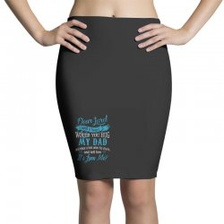 hug my dad Pencil Skirts | Artistshot