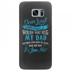 hug my dad Samsung Galaxy S7 Edge Case | Artistshot
