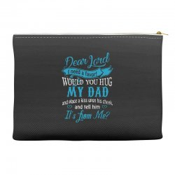 hug my dad Accessory Pouches | Artistshot
