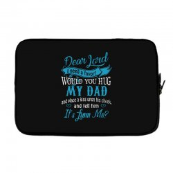 hug my dad Laptop sleeve | Artistshot