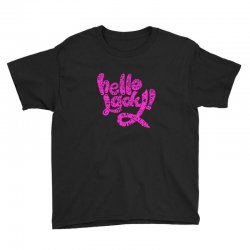 hello lady pink Youth Tee | Artistshot