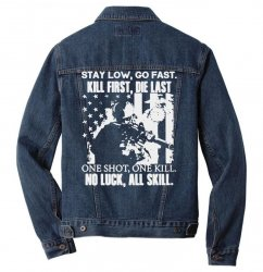 go fast Men Denim Jacket | Artistshot