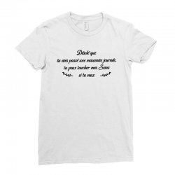 funny quote Ladies Fitted T-Shirt | Artistshot