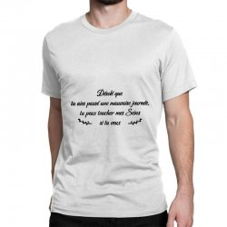 funny quote Classic T-shirt | Artistshot