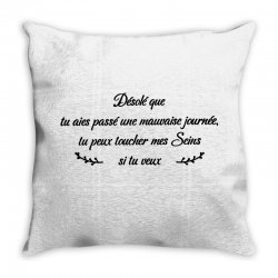 funny quote Throw Pillow | Artistshot