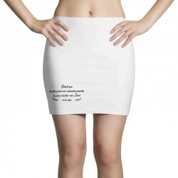 funny quote Mini Skirts | Artistshot