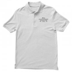 funny quote Polo Shirt | Artistshot