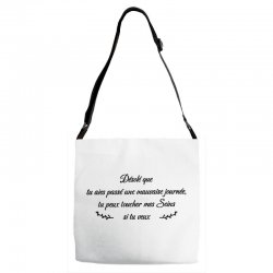 funny quote Adjustable Strap Totes | Artistshot