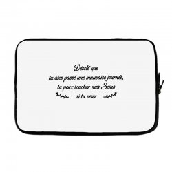 funny quote Laptop sleeve | Artistshot