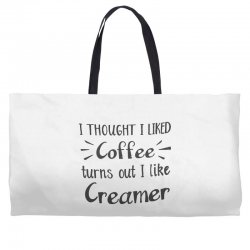 front view, white color Weekender Totes | Artistshot