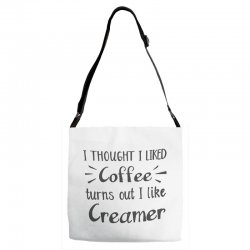 front view, white color Adjustable Strap Totes | Artistshot