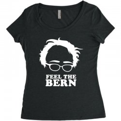 feel the bern Women's Triblend Scoop T-shirt | Artistshot