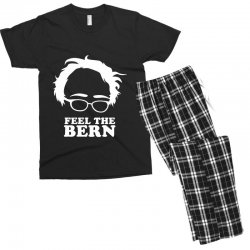 feel the bern Men's T-shirt Pajama Set | Artistshot
