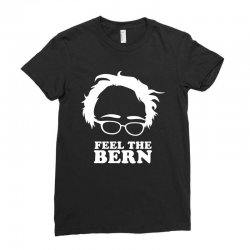feel the bern Ladies Fitted T-Shirt | Artistshot