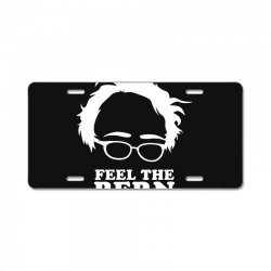 feel the bern License Plate | Artistshot