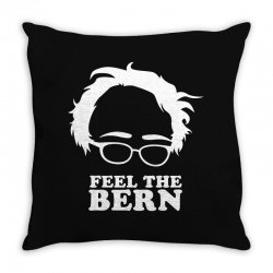 feel the bern Throw Pillow | Artistshot