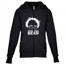 feel the bern Youth Zipper Hoodie | Artistshot