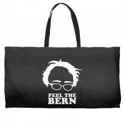 feel the bern Weekender Totes | Artistshot