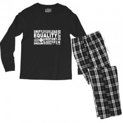 equality Men's Long Sleeve Pajama Set | Artistshot